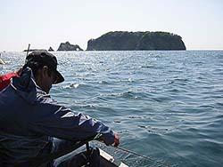 クロダイカカリ釣り