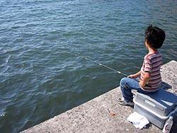 白浜 メジナ釣り
