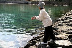 奄美大島のヤエン釣り