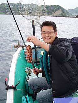岩井沖ボート カサゴ釣果