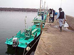 岩井沖チャーターボート