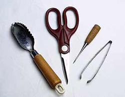 釣魚料理の小道具