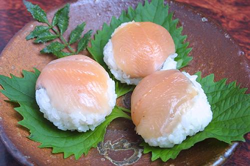 ヒメマス手まり寿司