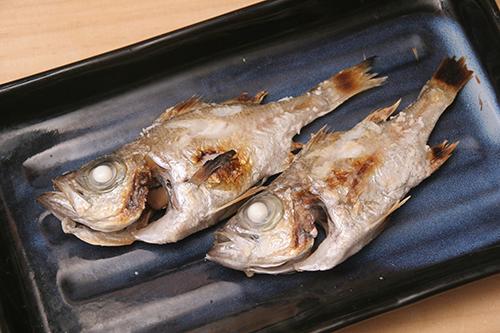 シロメ塩焼き
